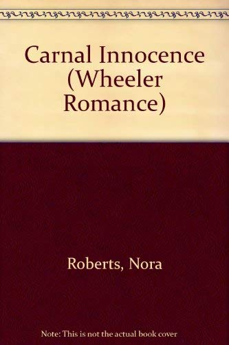 9781568958101: Carnal Innocence (Wheeler Large Print Book Series)