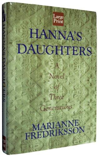 9781568958170: Hanna's Daughter (Wheeler Large Print Book Series)