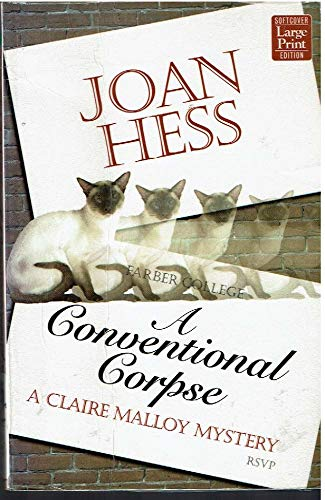 A Conventional Corpse (Claire Malloy Mysteries, No.: Joan Hess