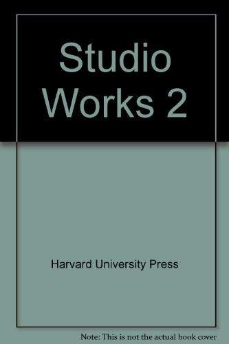 Studio Works 2: Harvard University Press