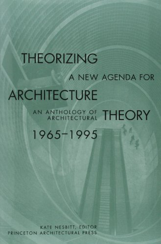 9781568980546: Theorizing a New Agenda for Architecture:: An Anthology of Architectural Theory 1965 - 1995
