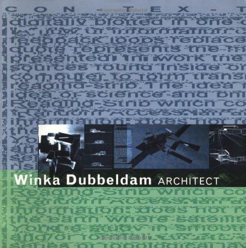 9781568981024: Winka Dubbeldam Architect (Con-Tex-Ture)