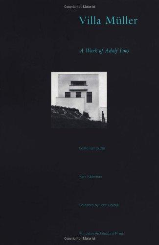 Villa Muller: A Work of Adolf Loos: van Duzer, L