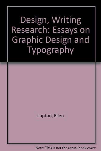 9781568981376: Design Writing Research