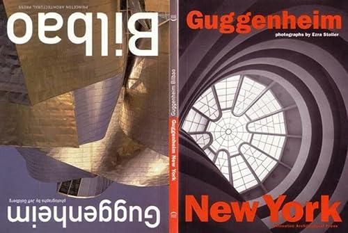 9781568981932: Guggenheim New York / Guggenheim Bilbao
