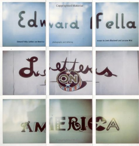 Edward Fella: Letters on America: Blackwell, Lewis