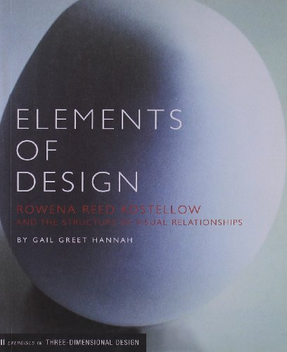 9781568983295: Elements of Design: Rowena Reed Kostellow and the Structure of Visual Relationships (Design Briefs)