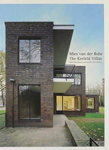 Mies Van Der Rohe - the Krefeld Villas (Hardback): K. Kleinman, L.Van Duzer