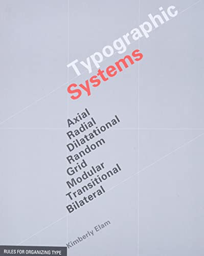 9781568986876: Typographic Systems of Design