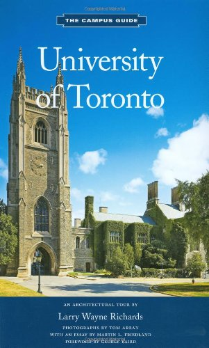 9781568987194: University of Toronto: An Architectural Tour (The Campus Guide)