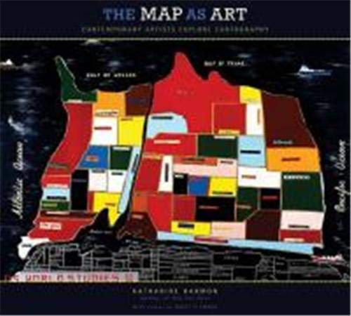 9781568987620: The Map as Art: Contemporary Artists Explore Cartography