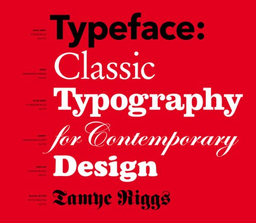 9781568988108: Typeface: Classic Typography for Contemporary Design
