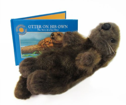 9781568991320: Otter on his Own: The Story of the Sea Otter (Smithsonian Oceanic Collection Book) (Mini book with stuffed toy)