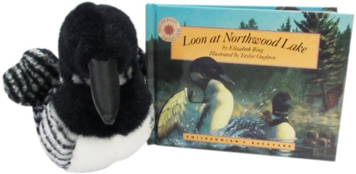 9781568993966: Loon at Northwood Lake - Stuffed Loon and Book Set (Smithsonian's Backyard)