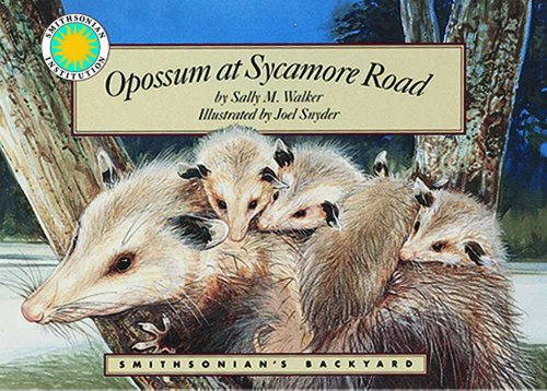 9781568994840: Opossum at Sycamore Road - a Smithsonian's Backyard Book (with audiobook cassette tape)