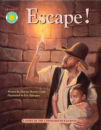 9781568996233: Escape!: A Story of the Underground Railroad - a Smithsonian Odyssey Adventure Book