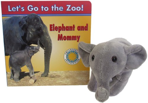 9781568999128: Elephant and Mommy - a Smithsonian Let's Go to the Zoo book (with stuffed animal toy)