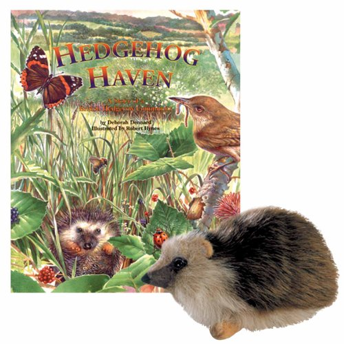 Hedgehog Haven: A Story of an English Hedgerow Community with Toy (Soundprints Wild Habitats) (9781568999913) by Deborah Dennard