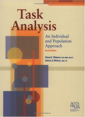 9781569001820: Task Analysis: An Individual and Population Approach, Second Edition