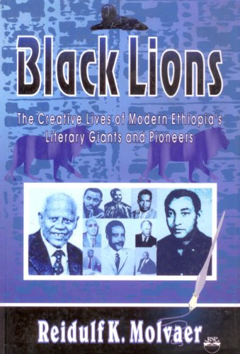 9781569020166: Black Lions: The Creative Lives of Modern Ethiopia's Literary Giants and Pioneers