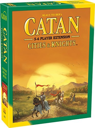 9781569052068: Catan: Cities and Knights, 5-6 Player Expansion