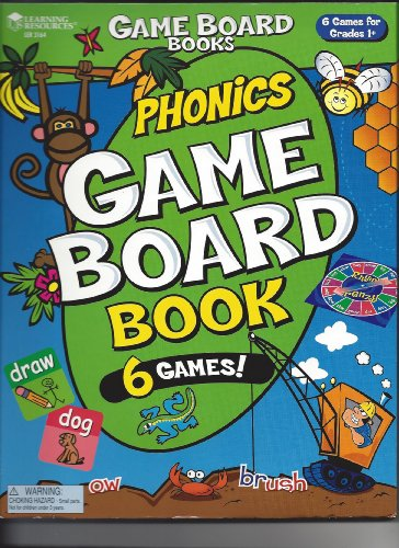9781569111338: Phonics Game Board Book 6 Games for Grades 1+ (Game Board Books)