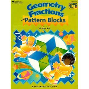 9781569119754: Geometry and Fractions with Pattern Blocks: Problem-Solving Activities, Grades 3-6