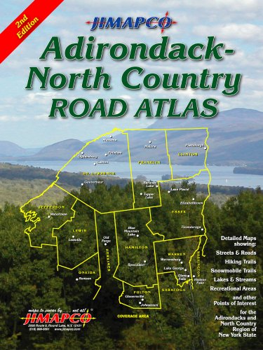 9781569140222: Adirondack - North Country Road Atlas