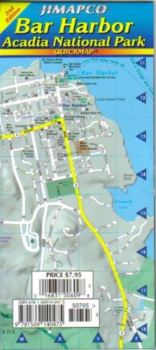 Bar Harbor / Acadia National Park Quickmap®: JIMAPCO Inc.