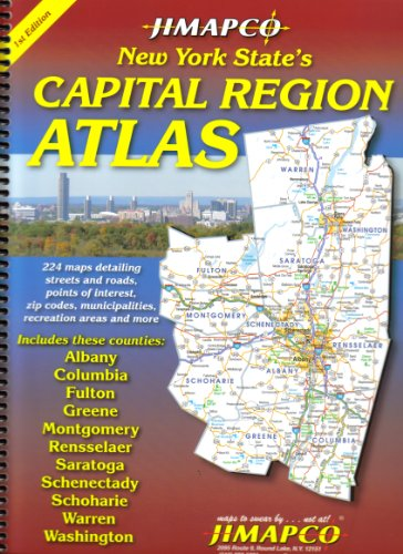 9781569141373: Capital Region Atlas - AbeBooks - Jimapco