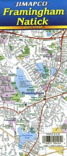Framingham/Natick, MA Quickmap®: JIMAPCO Inc