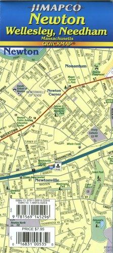 Newton / Wellesley / Needham MA Quickmap®: JIMAPCO Inc