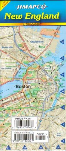 9781569145722: New England Quickmap