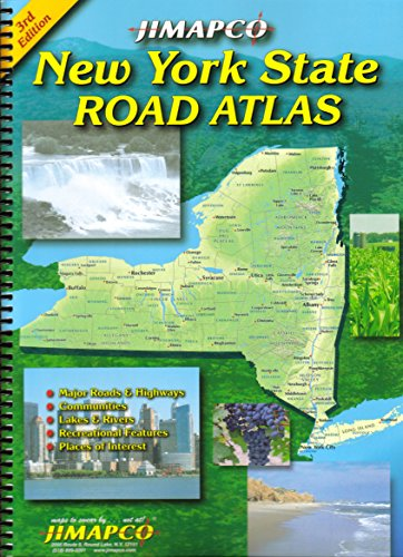 9781569145791: New York State Road Atlas
