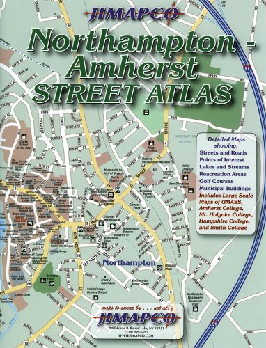 Northampton/Amherst, MA Street Atlas: JIMAPCO Inc