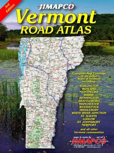 9781569148792: Vermont Road Atlas