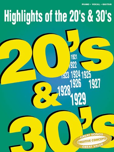 Highlights of the '20s & '30s: Hal Leonard Corp.