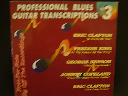 Professional Blues Guitar Transcriptions No. 3