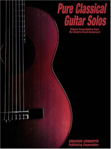 9781569221686: Pure Classical Guitar Solos