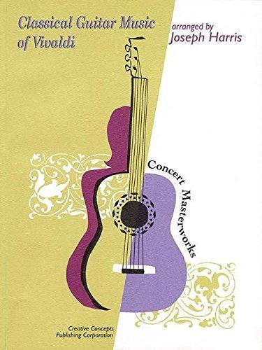 9781569221945: Classical guitar music of vivaldi guitare (Concert Masterworks)