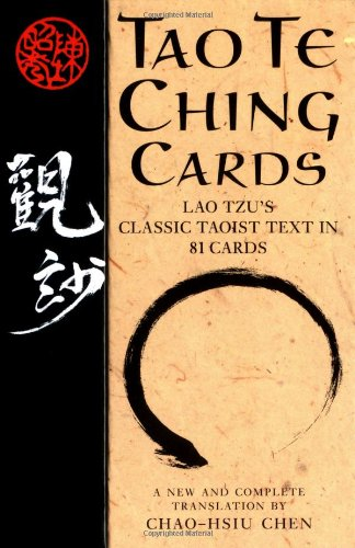 9781569244548: Tao Te Ching Cards: Lao Tzu's Classic Taoist Text in 81 Cards