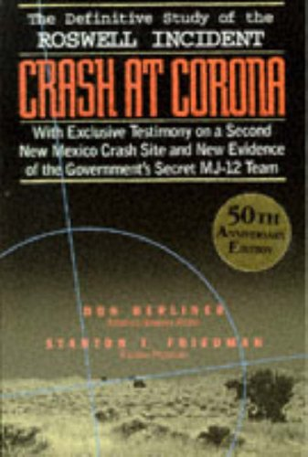 9781569248638: Crash at Corona: US Military Retrieval and Cover-up of a UFO