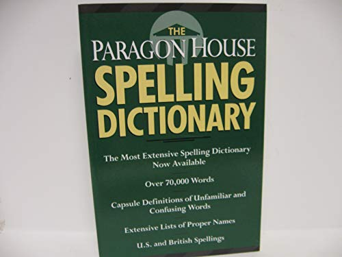 9781569248669: The Paragon House Spelling Dictionary