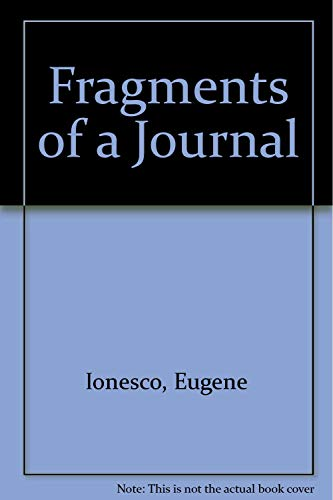 9781569248928: Fragments of a Journal
