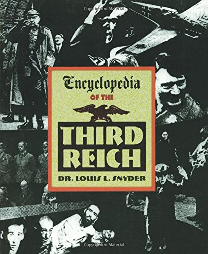 9781569249178: Encyclopedia of the Third Reich
