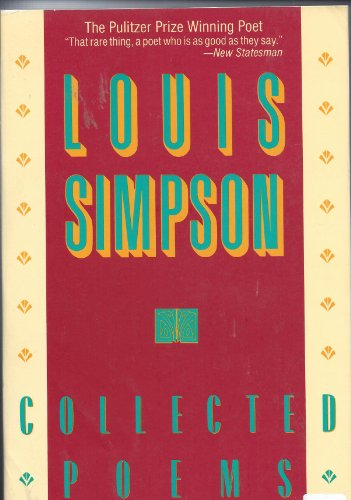 Collected Poems: Simpson, Louis