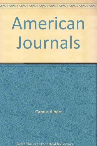 9781569249574: American Journals