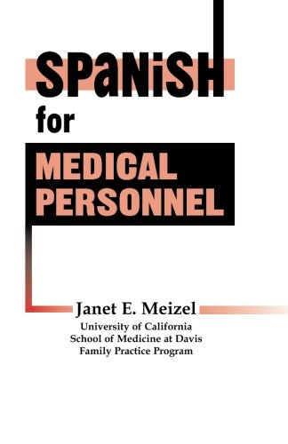 9781569300015: Spanish for Medical Personnel