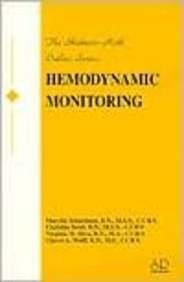 Hemodynamic Monitoring Outline (Skidmore-Roth Outline): Schactman, RN MSN