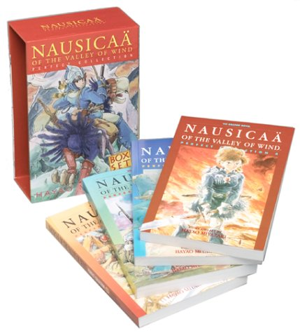 Nausicaä of the Valley of the Wind, Vols. 1-4